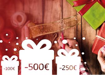 Weihnachtsaktion: Jetzt bis zu 500 EURO sichern!