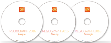 Software RegioGraph 2019 in 3 Versionen