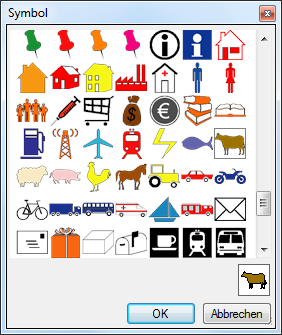200 zuätzliche Symbole für RegioGraph
